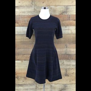 Athleta Fit and Flare Sweater Wool Blend Dress